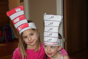 word family hats