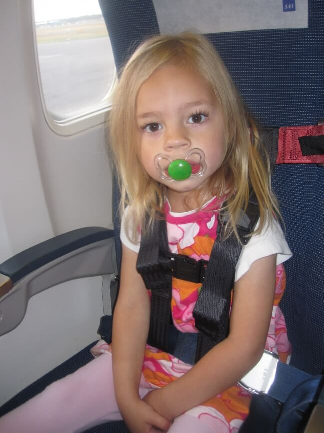 child airline safety