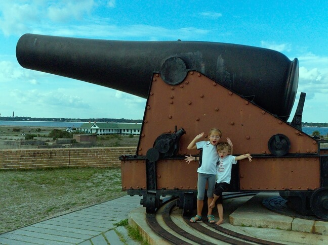 giant cannon
