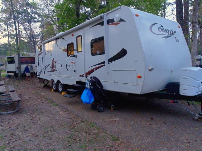 Louisiana campground