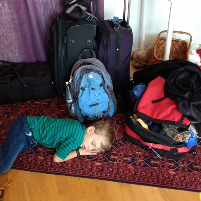 travel tired